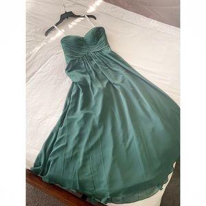 Azazie Yazmin Dark Green Formal Dress